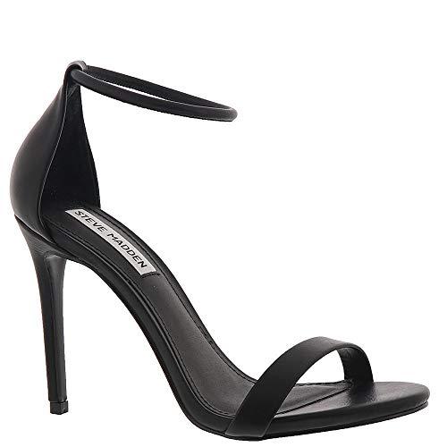 Steve Madden Women's Soph Heeled Sandal Black 7.5 M US