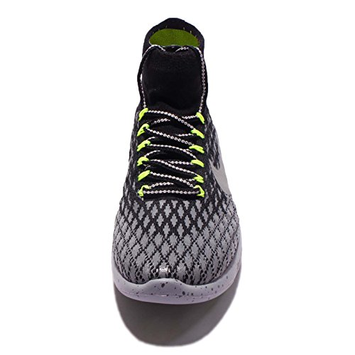 Zapatillas Para Correr Nike Mujer's Lunarepic Flyknit Black / Metálico Plata-oscuro Gris-sigilo