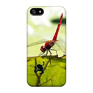Happycases2005 Premium Protective Hard Cases For Iphone 5/5s- Nice Design - Os 4.0 Dragonfly