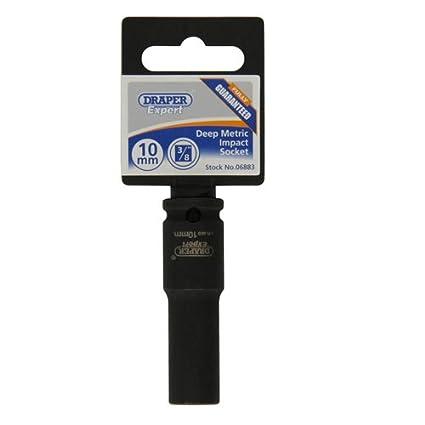 Draper Expert 06885 12mm Impact Deep Socket with 3//8-inch Drive