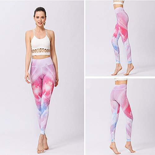 7 sportivi da Pantaloni Xiaoqin Pantaloni ginnastica donna Pantaloni allenamento da yoga da da qa77wgz