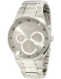 Men's KC9162 Classic 3500 Series Round Chronograph Contemporary Sub-Eye Grey Watch