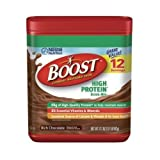 Boost Rich Chocolate High Protein Powder, 17.7 Ounce -- 6 per case.