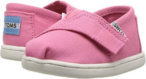 TOMS Girls' 10009918 Alpargata-K, Pink, 8 M US Toddler -