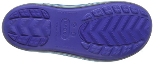 Crocs Cerulean Jaunt Boot Stripes Blue Shorty Women's Navy Rain pwpxrBqTUY