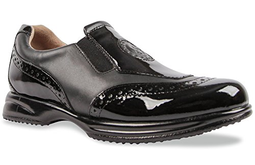 Sandbaggers Madison Women's Golf Shoes (Onyx, 8)