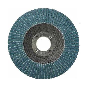 VA Fächerscheibe Korn 120 1 Stück Fächerscheibe 115mm BLAU Edelstahl INOX