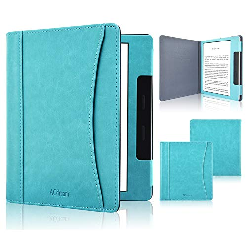 ACdream Case Fits All-New Kindle Oasis 2019, Folio Smart Cover Leather Case with...