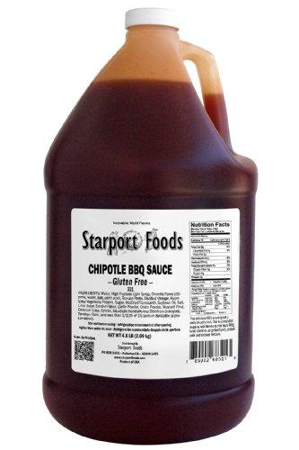 Chipotle BBQ Sauce - 1/2 Gallon, Net Wt. 5.5 Lbs.
