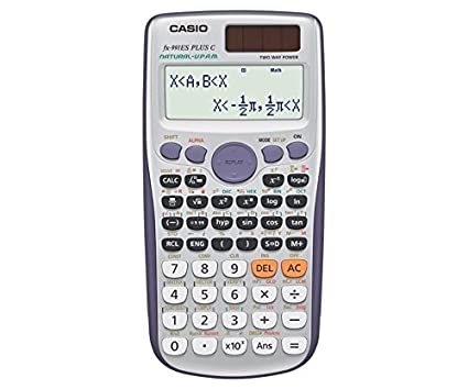 Casio FX ES PLUS Calculadora científica funciones  dígitos pantalla Natural color