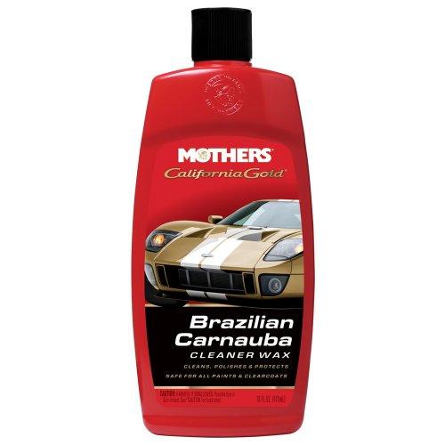Mothers 05701 California Gold Carnauba Cleaner Wax Liquid - 16 (Mothers California Gold Liquid)
