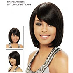 It's a Wig 100% Indian Remi Human Hair Natural First Lady Color P4/27