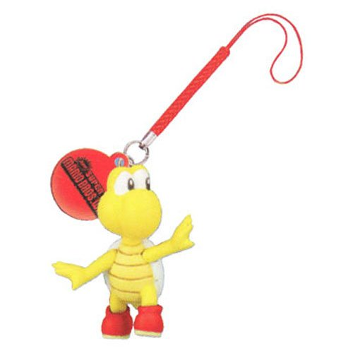 Price comparison product image Super Mario Bros Wii - Deluxe Enemy Danglers - KOOPA TROOPA (Red Shell) (1 inch)