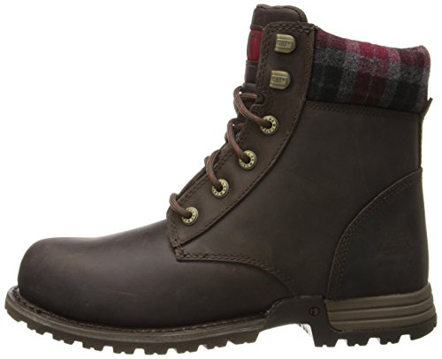 Caterpillar Women's Kenzie Steel Toe Work Boot, Bark, 9 M US by Caterpillar (Image #5)