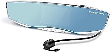 DBPOWER 1080P Dual-lens Car Dash Cam