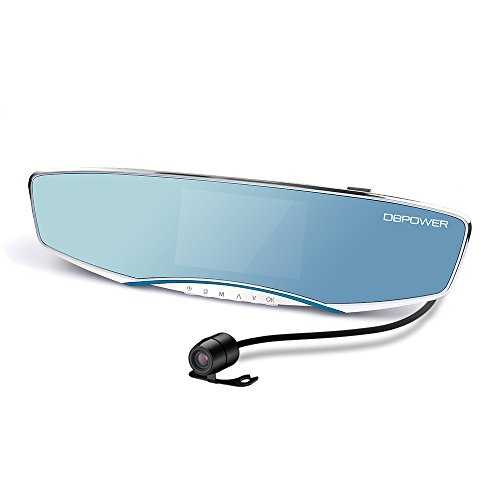 DBPOWER Dual lens Camera Viewing Display