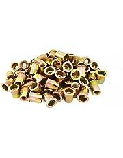 Astro Pneumatic Tool RN38 100-Pieces 3/8-16 Steel Rivet Nuts