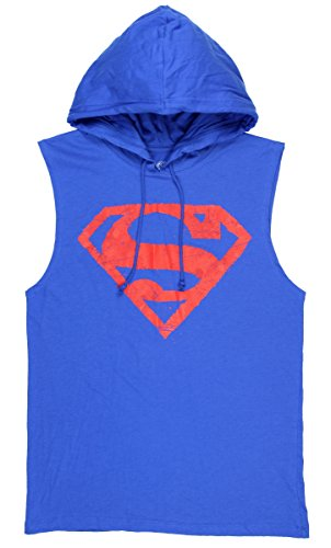Superman+tank+tops Products : DC Comics Superman Graphic Sleeveless Pullover Hoodie
