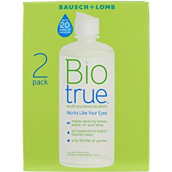 Biotrue Contact Lens Solution For Soft Contact Lenses, Multi-purpose, 10oz Pack Of 2 8