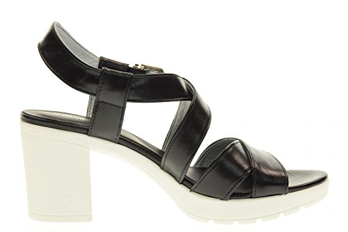 100 P717750D NERO GIARDINI black sandales chaussures qtt6wxnIP
