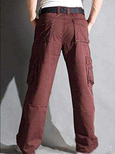 Winered Saoye Outdoor De Casual Beaucoup Pantalon Cargo Lâche Military Poches Travail Ajustant Vêtements Fashion Hommes rE6YqdYwg