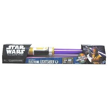 Láser De Electrónico Windu Wars Hasbro Mace 36863 Sable Star Juguete mNynwOv80P
