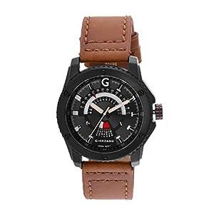 Giordano Analog White Dial Men's Watch