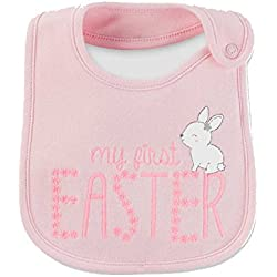 New Unisex Baby Carters First Easter Bib Some Bunny to Love Chick