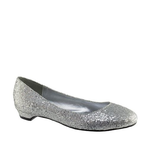 Touch Ups 415wo Tamara Zapatos De Mujer Sintéticos De Plata Sintética