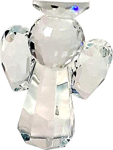 A Mediator Between The God in Heaven and Man on Earth /… Clear Crystal Guardian Angel