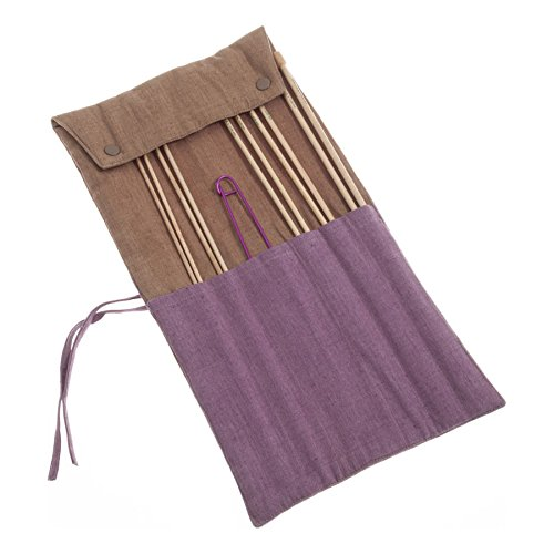 Pony P32803 35cm Maple Knitting Pins Set in Fabric Case 5 Sizes 3.25mm - 5mm by Pony