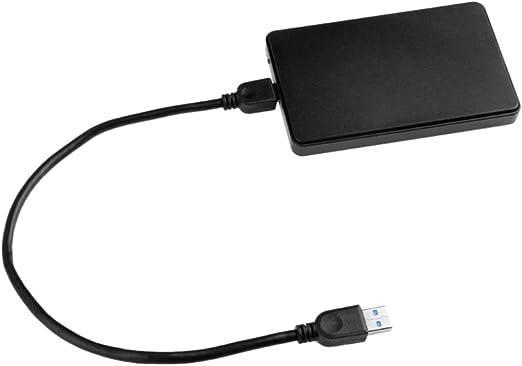 ポータブル外付けハードドライブディスク、USB3.0 2.5インチSATAモバイルHDD高速 - 2T