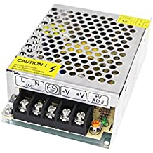 NeeKeons AC 110V-240V To DC 12V 3.2A(38W) Switching Power Supply Regulated Power Transformer Adapter for Industrial Automation, LED Strips,CCTV , Radio, Computer (12V3.2A)
