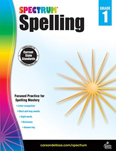 Carson-Dellosa Spectrum Spelling Workbook, Grade 1 ()