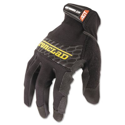 Box Handler Gloves, Black, Large, Pair, Sold as 1 Pair, 2 per Pair