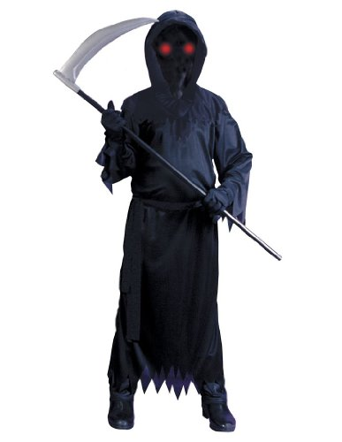Grim Reaper Fade In/Out Unknown Phantom Costume, Child Small (Scary Costumes For Halloween For Kids)