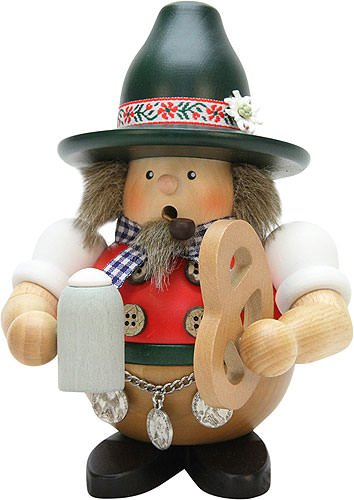 Räuchermännchen Bayer - - - 17,5cm - Original Erzgebirge Räuchermann - Christian Ulbricht 4713df