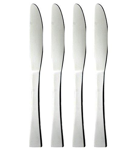 King International Stainless Steel Cutlery Knife, Silver, 4 Piece