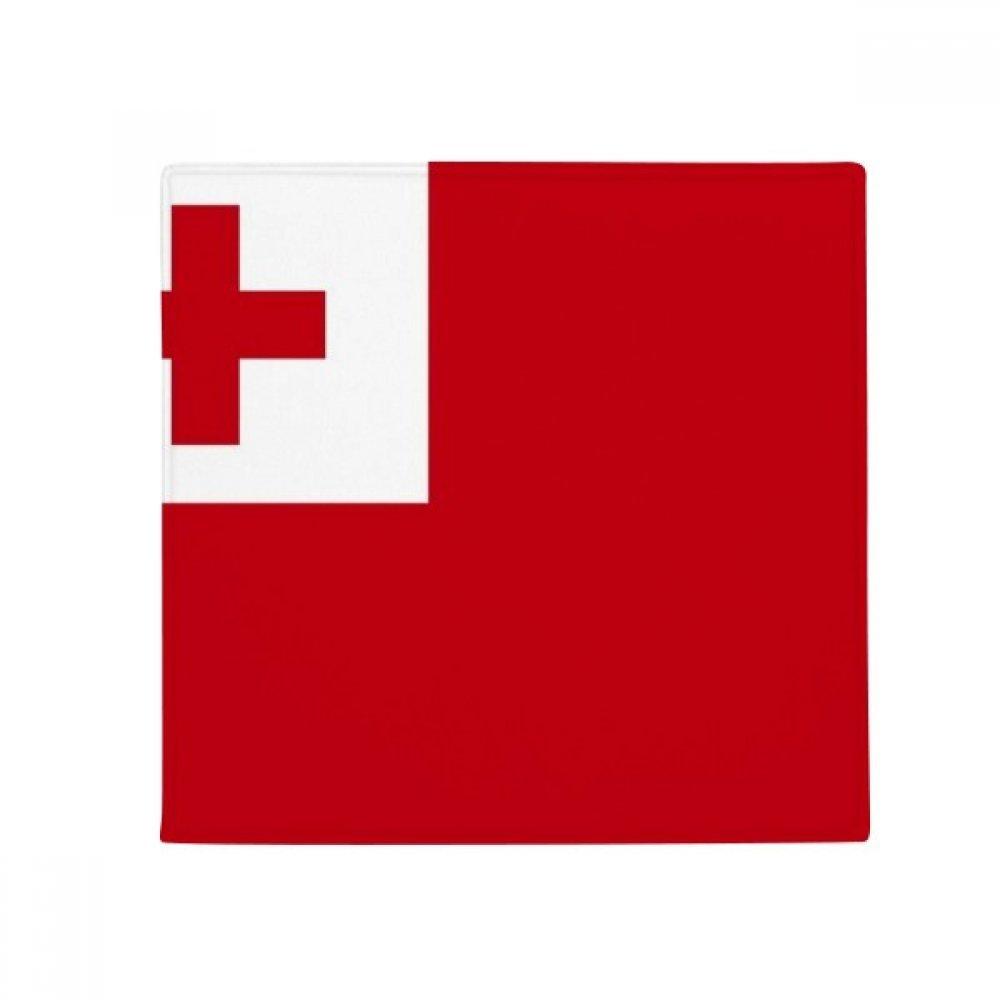 60X60cm DIYthinker Tonga National Flag Oceania Country Anti-Slip Floor Pet Mat Square Bathroom Living Room Kitchen Door 60 50Cm Gift