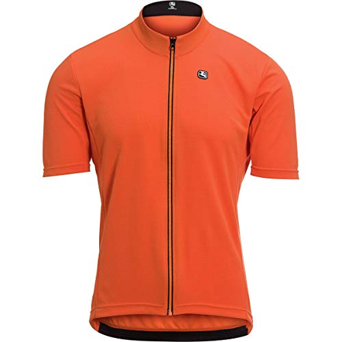 Giordana Fusion Jersey - Men's Cantaloupe Orange, -