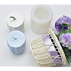 Candle Molds - 3d Yarn Column Shape Aromatherapy P