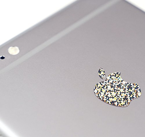 Silver Glitter Color Changer Overlay for Apple iPhone 7 and 7 Plus...