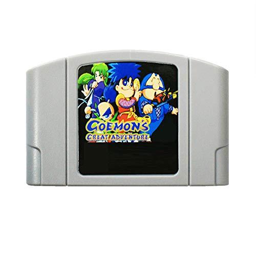 N64 Video Gamess Game Cartridge - Goemon's Great Adventure English Language for 64 bit USA Version Video Game Cartridge Console