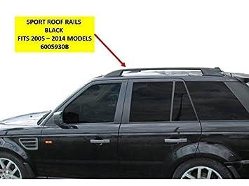 OMTEC Elegance negro rieles de techo barras para Range Rover Sport 2005 > 2013 – 6005930b