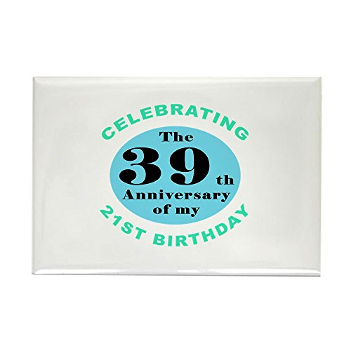 CafePress 60Th Birthday Humor Rectangle Magnet, 2