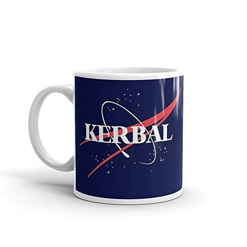 Kerbal Space Program Hoodie 11 Oz White Ceramic