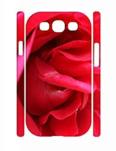 Classic Flower Print Individualized Durable Samsung Galaxy S3 I9300 Snap On Case