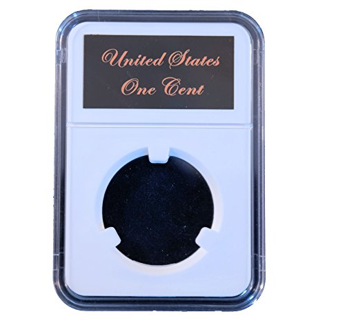 Little Bear Elite Certified-Style Coin Holder for US Braided Hair 1839 - 1857 Large Cent & Hard Times Token