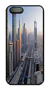 Downtown Dubai Widescreen Custom iPhone 5s/5 Case Cover Polycarbonate Black