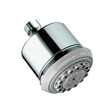 Bon Hansgrohe 28496005 Clubmaster Showerhead, Small, Chrome   Fixed Showerheads    Amazon.com